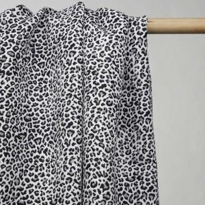 tissu-jacquard-blanc-motif-leopard-noir